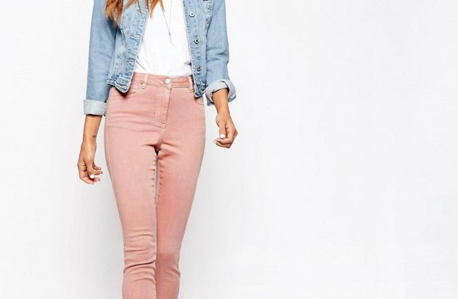 Skinny pants for women