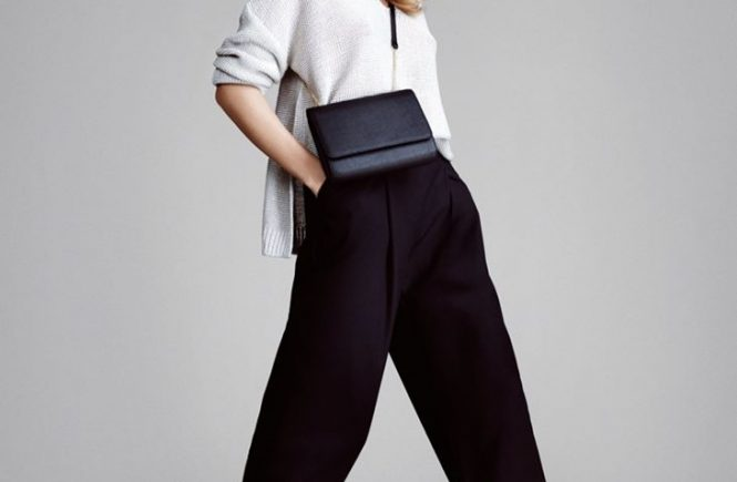 Wide pants for women
