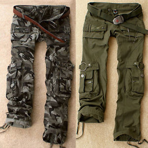 army green cargo pants womens photo - 1