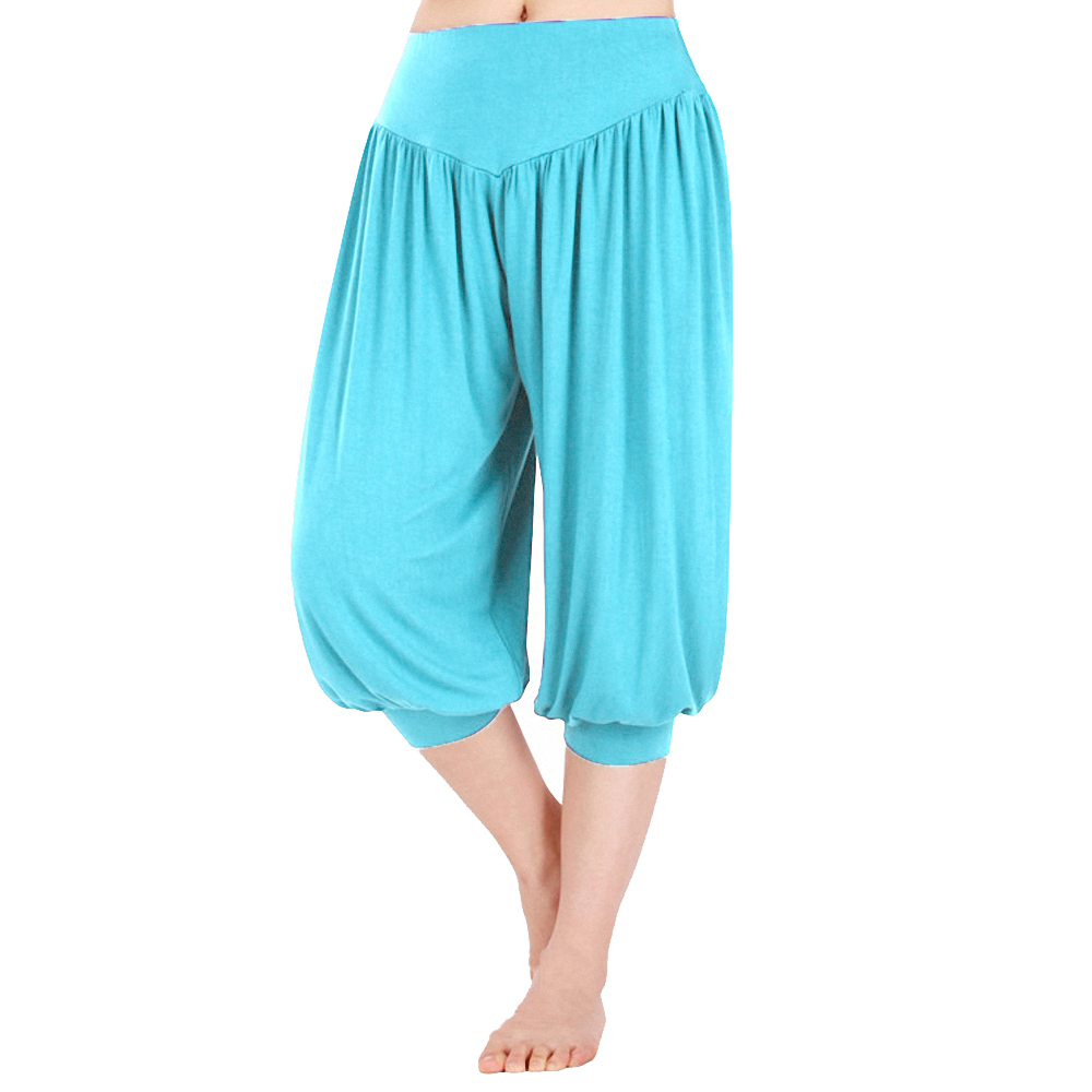 baggy harem yoga pants jumpsuit dress photo - 2