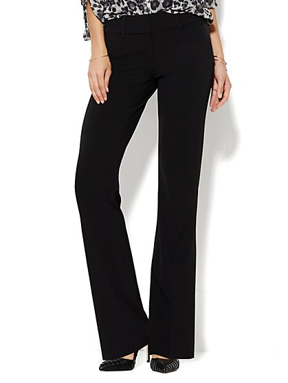 black pants for tall women photo - 2
