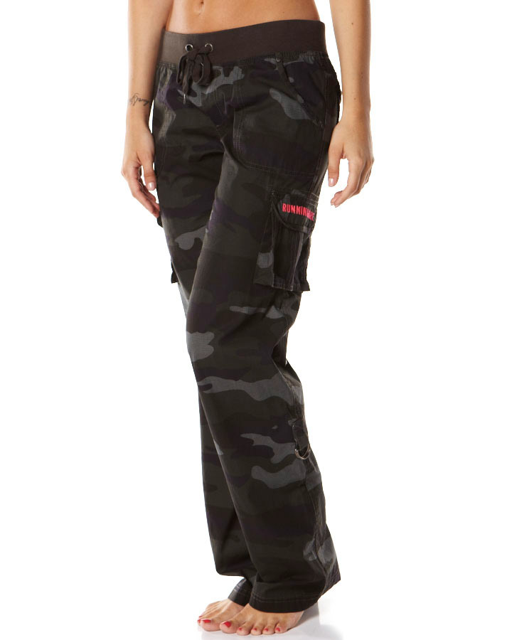 blue cargo pants womens photo - 1