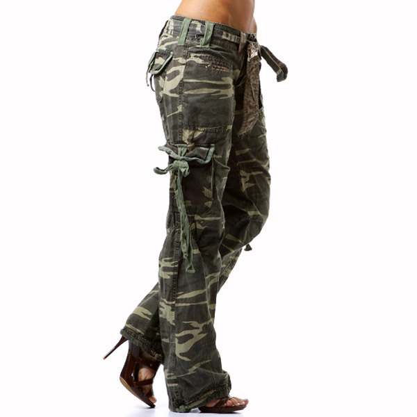 cargo pants for womens photo - 2