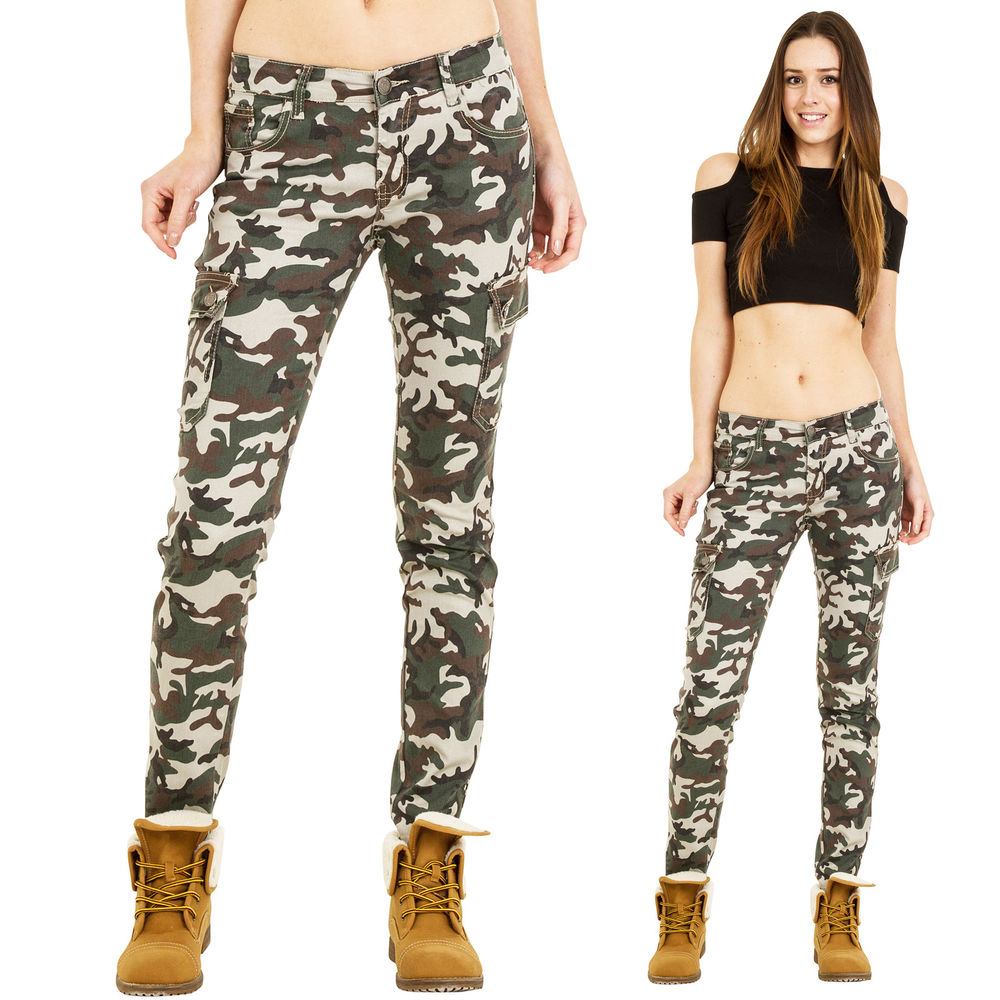 dark green cargo pants womens photo - 2