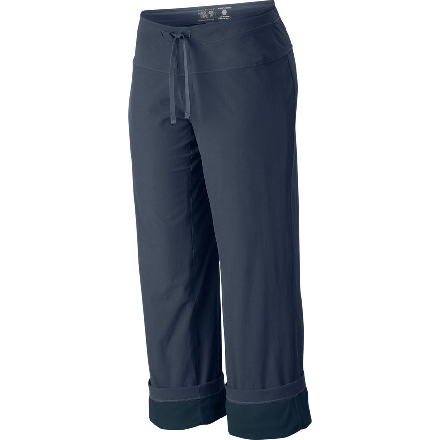 fleece lined womens pants photo - 2