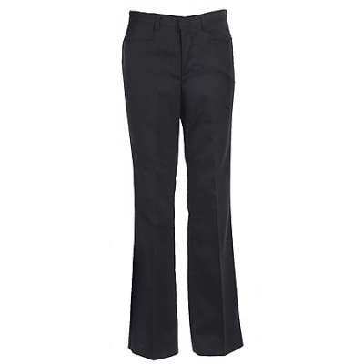 girl black uniform pants photo - 1