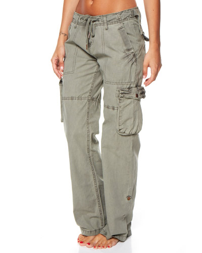 navy cargo pants womens photo - 2