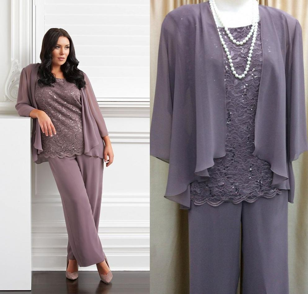 pants suit for mother of the groom photo - 1