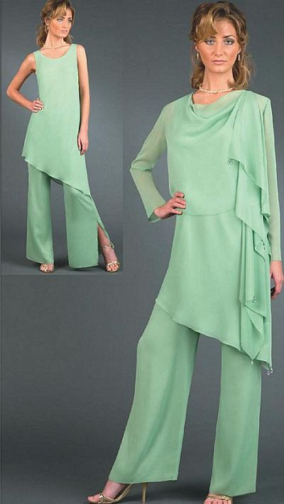 pants suit for mother of the groom photo - 2