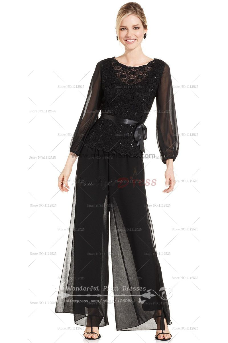 pants suit mother of the bride photo - 1