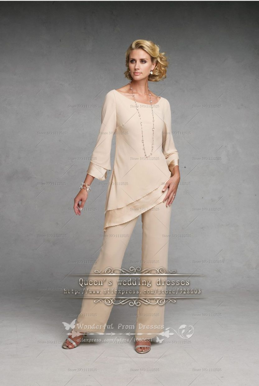 pants suit mother of the bride photo - 2