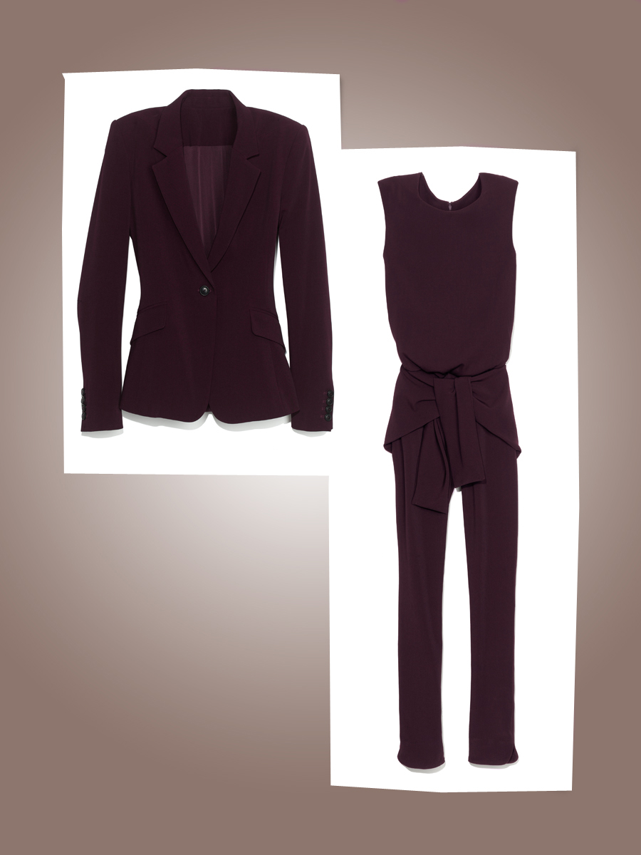 pants suit with skirt photo - 2