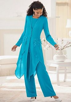 pants suits for mother of the bride photo - 1