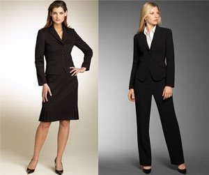 pantsuit library photo - 1