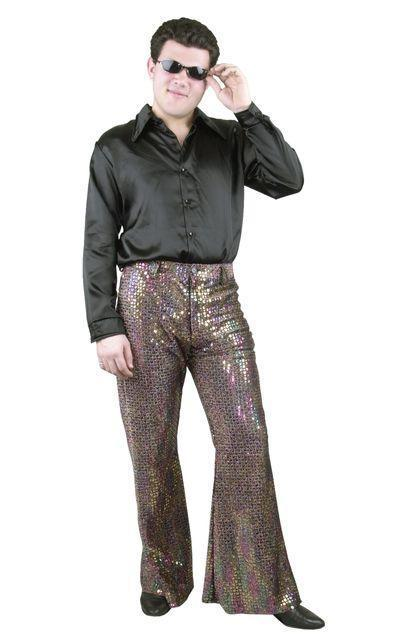 plus size 70 s bell bottom pants photo - 1
