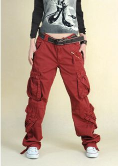 plus size army fatigue pants photo - 1