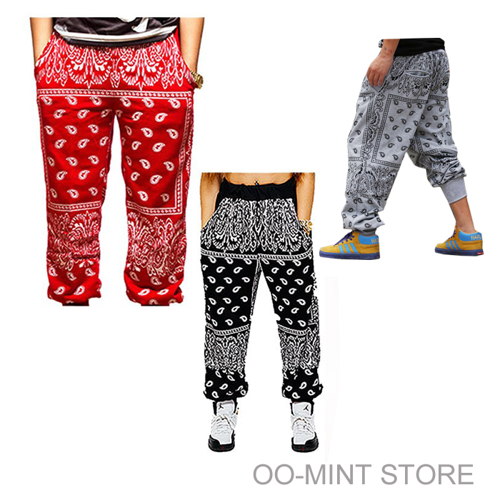 plus size bandana pants photo - 1