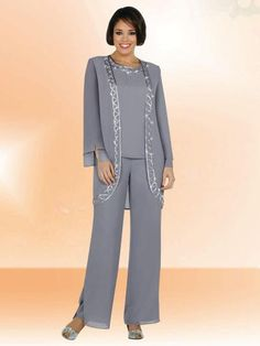 plus size cocktail pant suits photo - 1