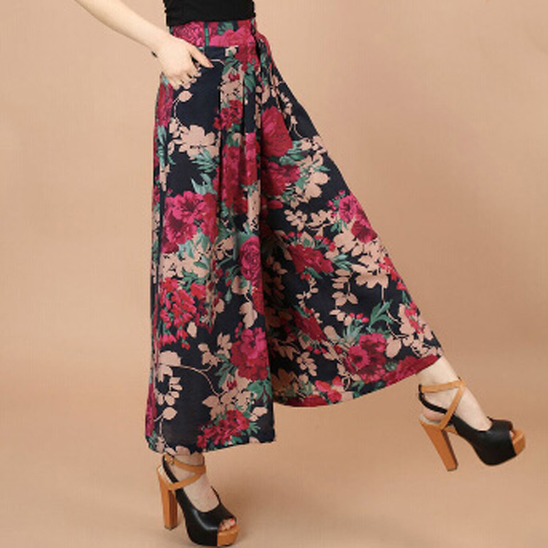 plus size flowy pants photo - 1