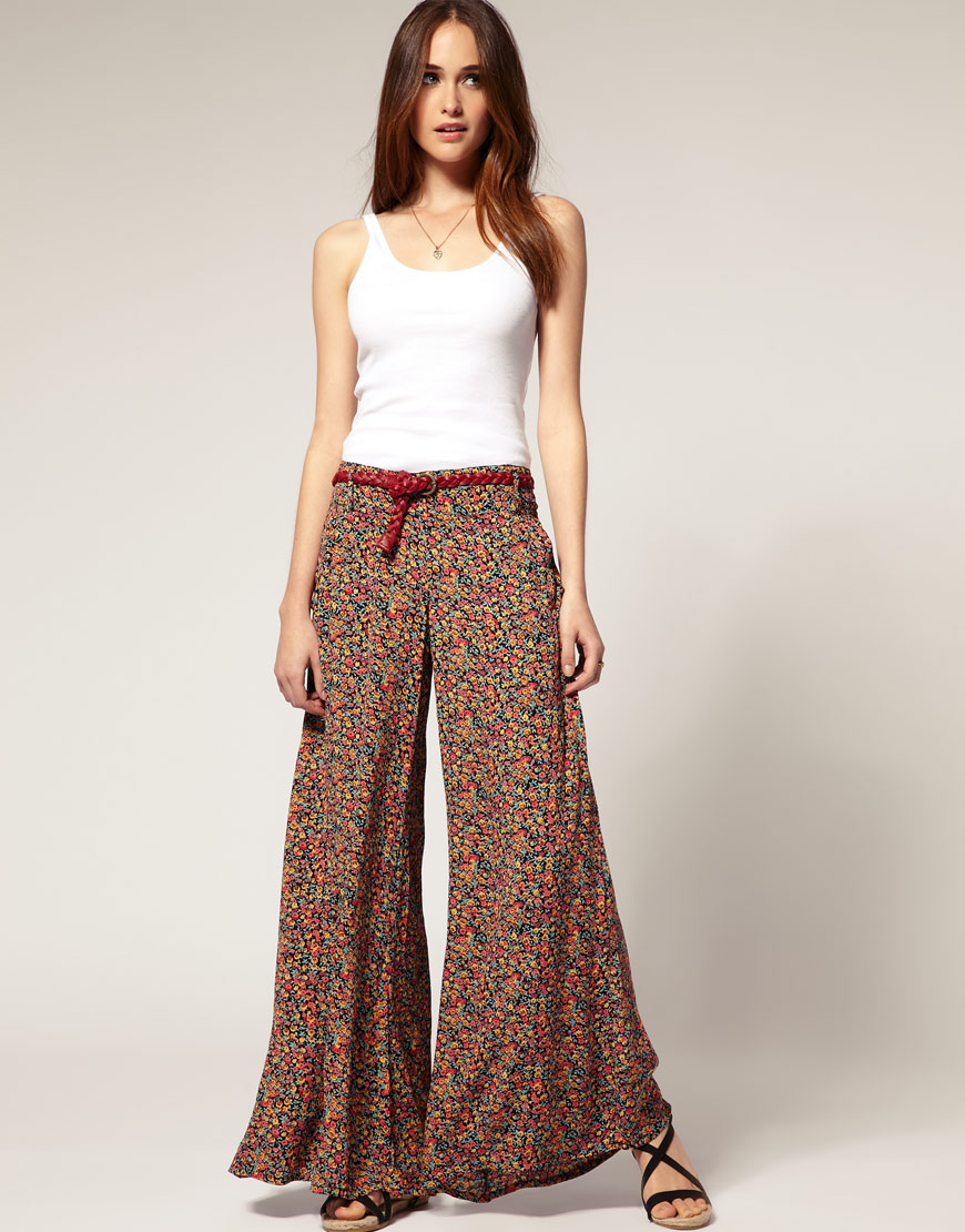 plus size flowy pants photo - 2