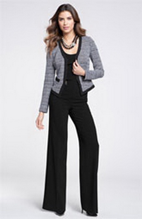 plus size formal pants outfits photo - 2