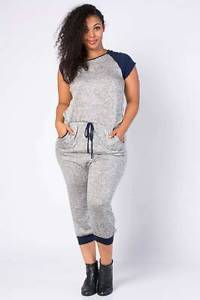 plus size grey pant suit photo - 2