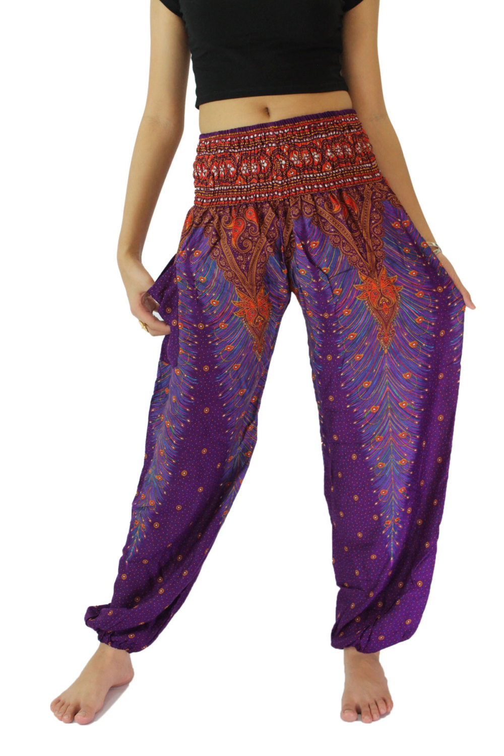 plus size gypsy pants photo - 1
