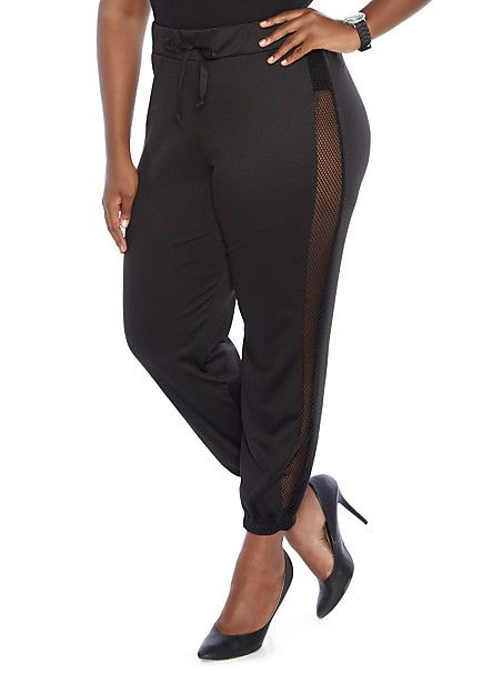 plus size jogger pants photo - 1