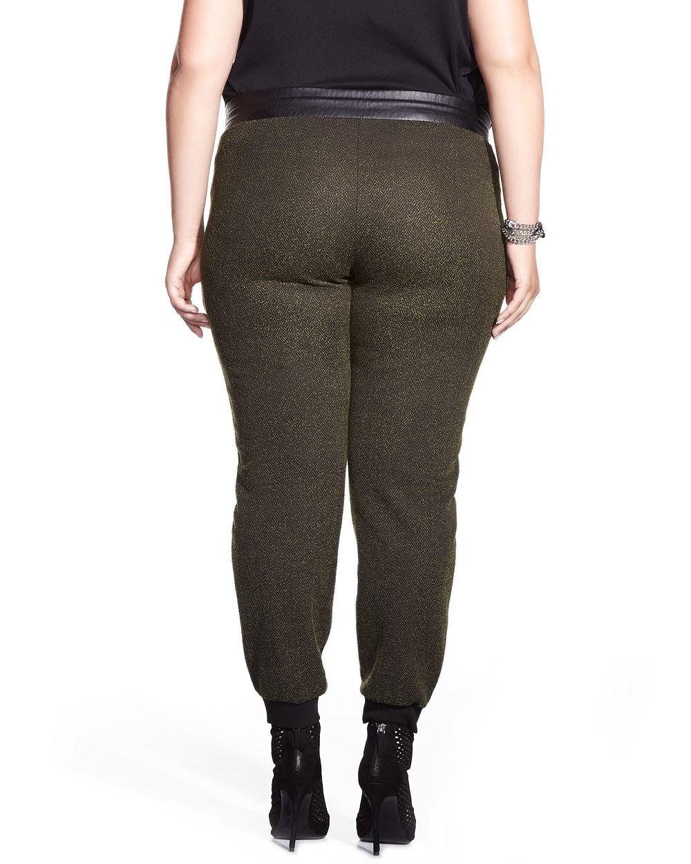 plus size jogger pants photo - 2