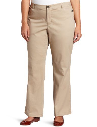 plus size khaki pants tall photo - 1