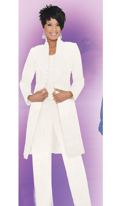 plus size linen pants suits photo - 1