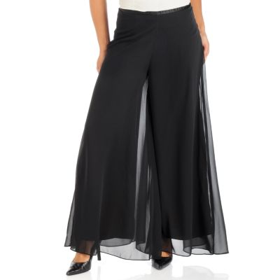 plus size palazzo pant outfits photo - 2