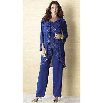 plus size palazzo pant sets photo - 1