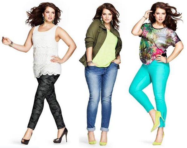 plus size pants brown photo - 2