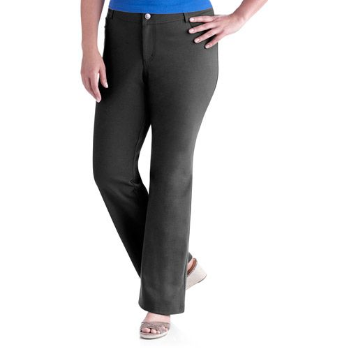 plus size pants walmart photo - 2