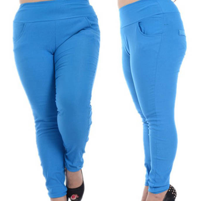plus size pants with elastic waist photo - 1