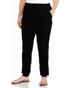 plus size rayon pants photo - 2