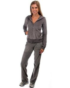 plus size velour pant sets photo - 2