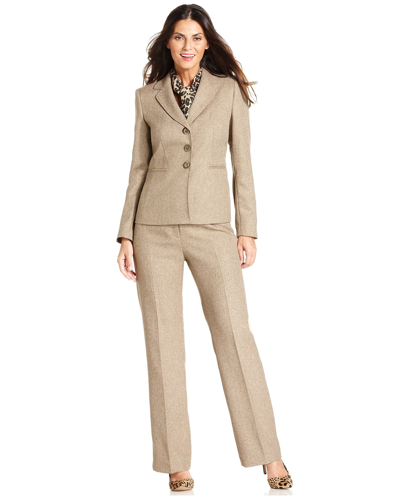 plus size womens pant suits for weddings photo - 2