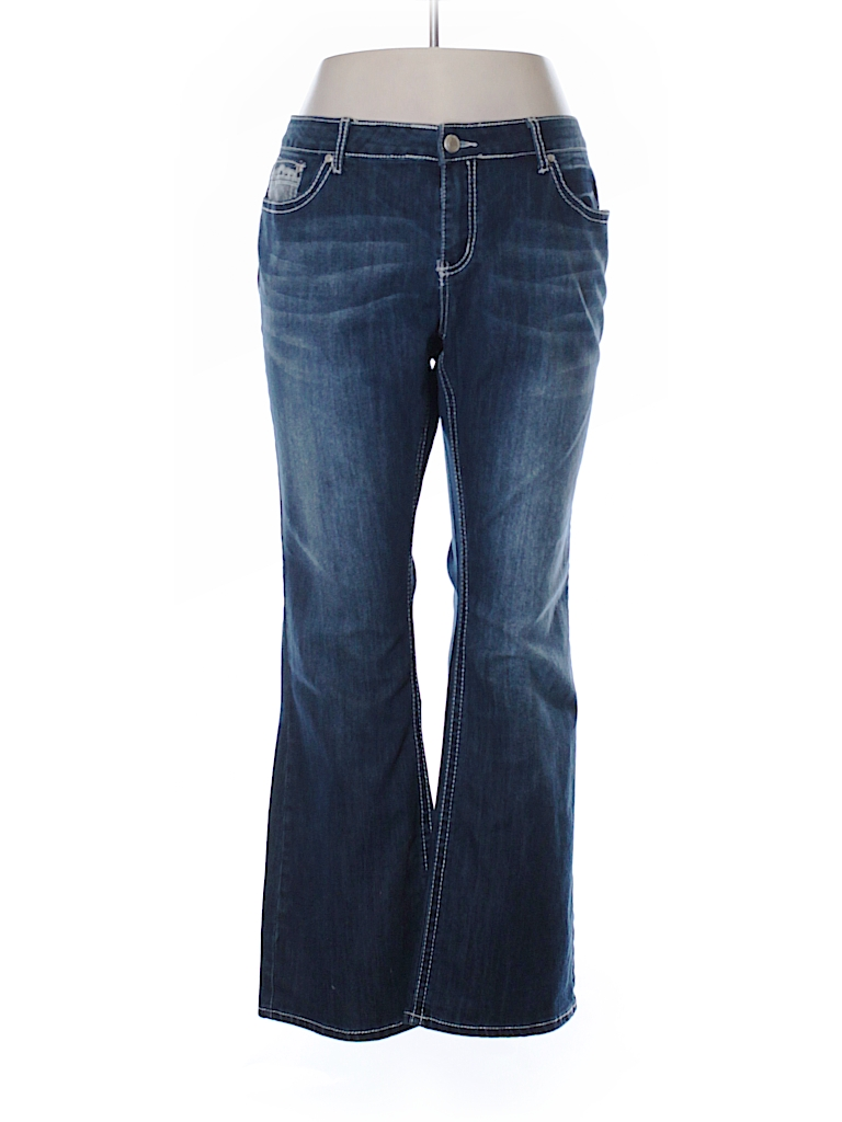 plus size zco jeans photo - 1