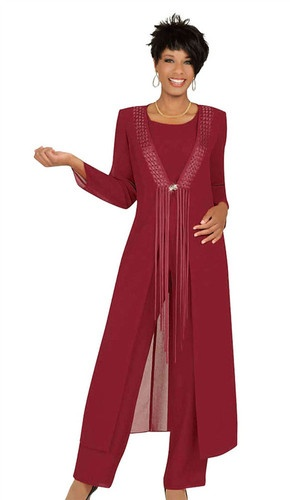 red pants suit for women photo - 2