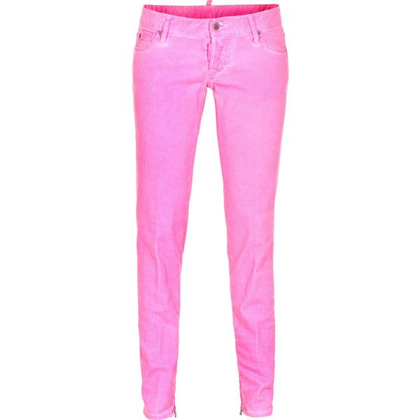 skinny pants with ankle zipper photo - 1