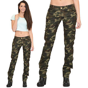slim cargo pants womens photo - 1