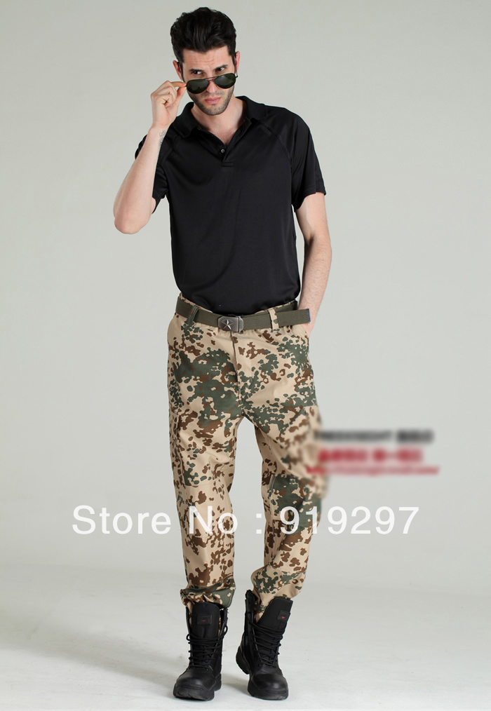 slim fit uniform pants photo - 2