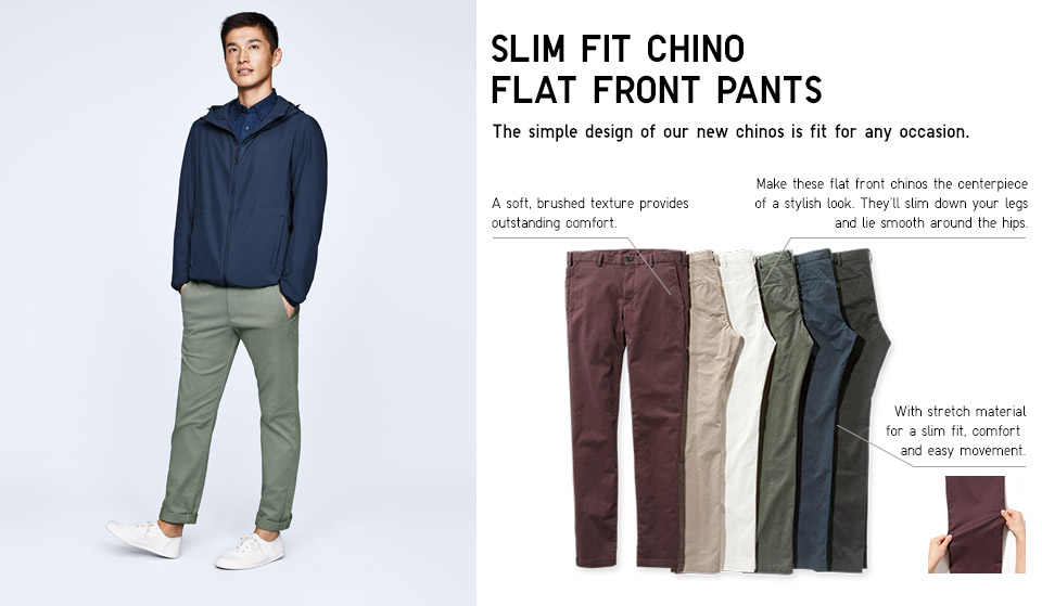 slim jogger pants photo - 1