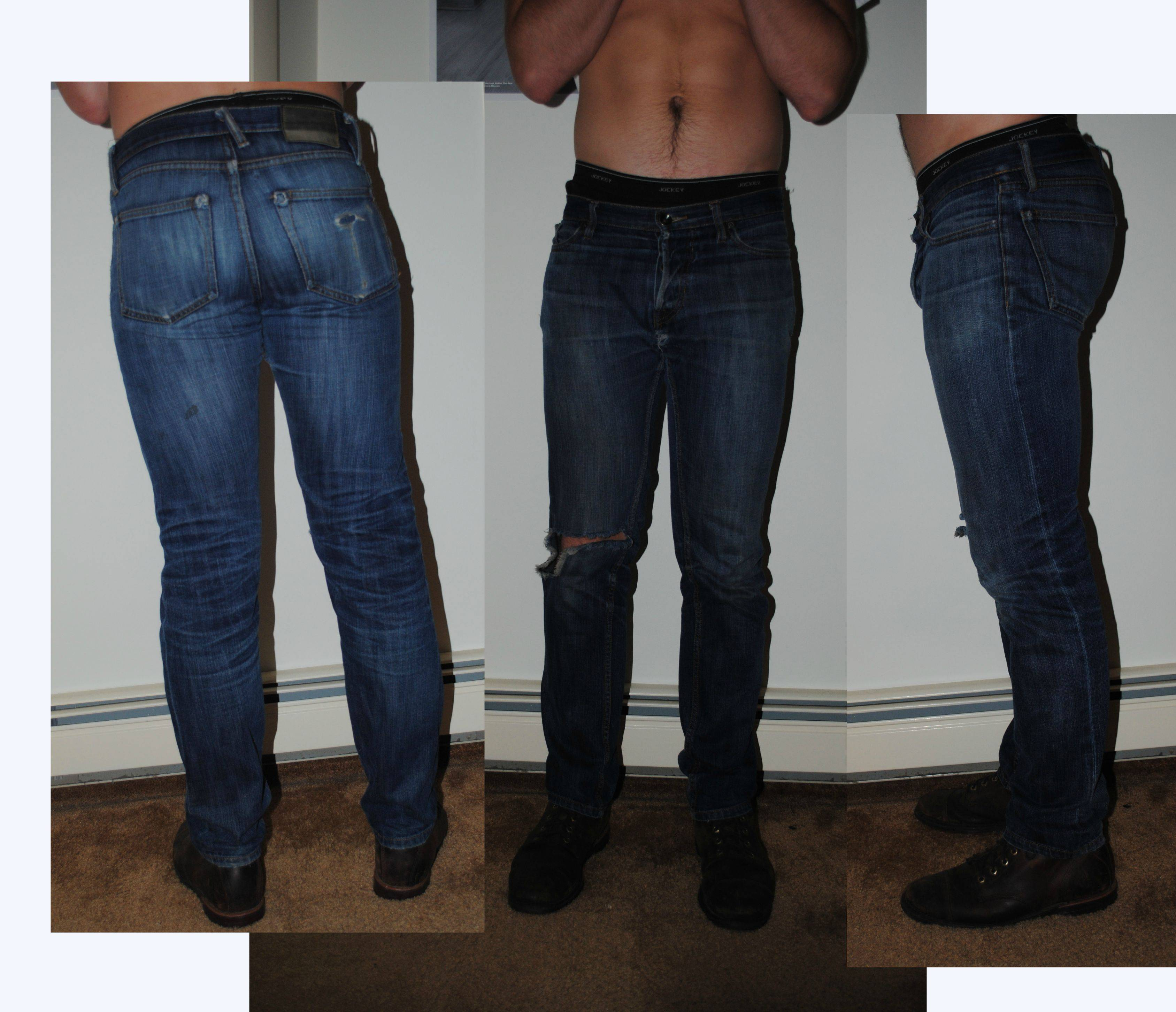 slim pants for guys with big thighs photo - 1