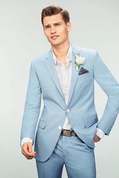 suit and pants combination photo - 2