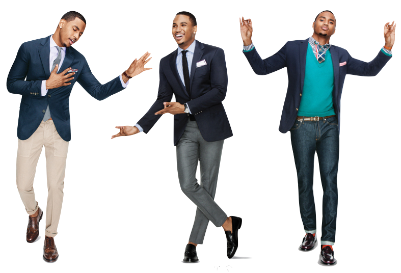 suit jacket and pants combinations photo - 2