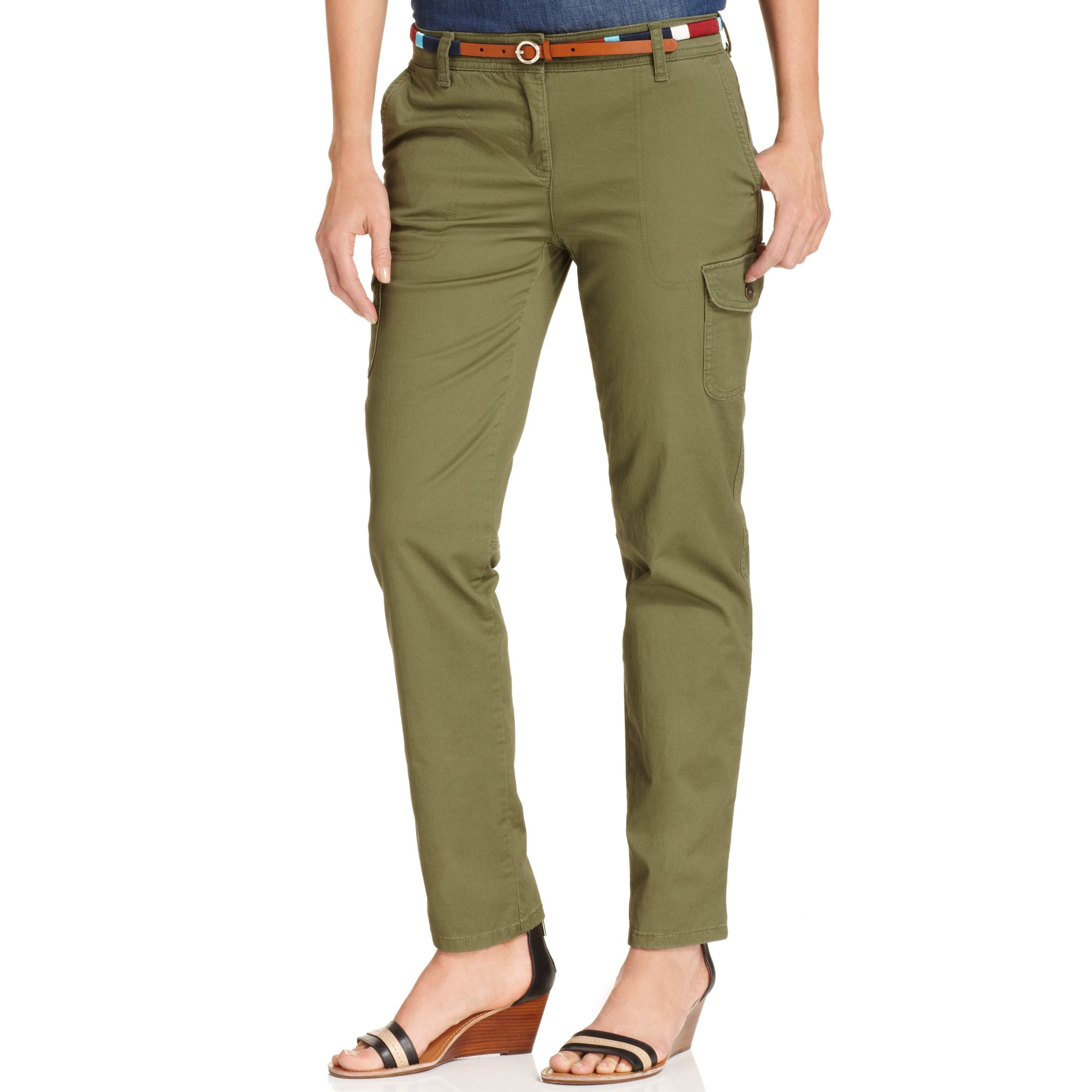 vince womens cargo pants photo - 2