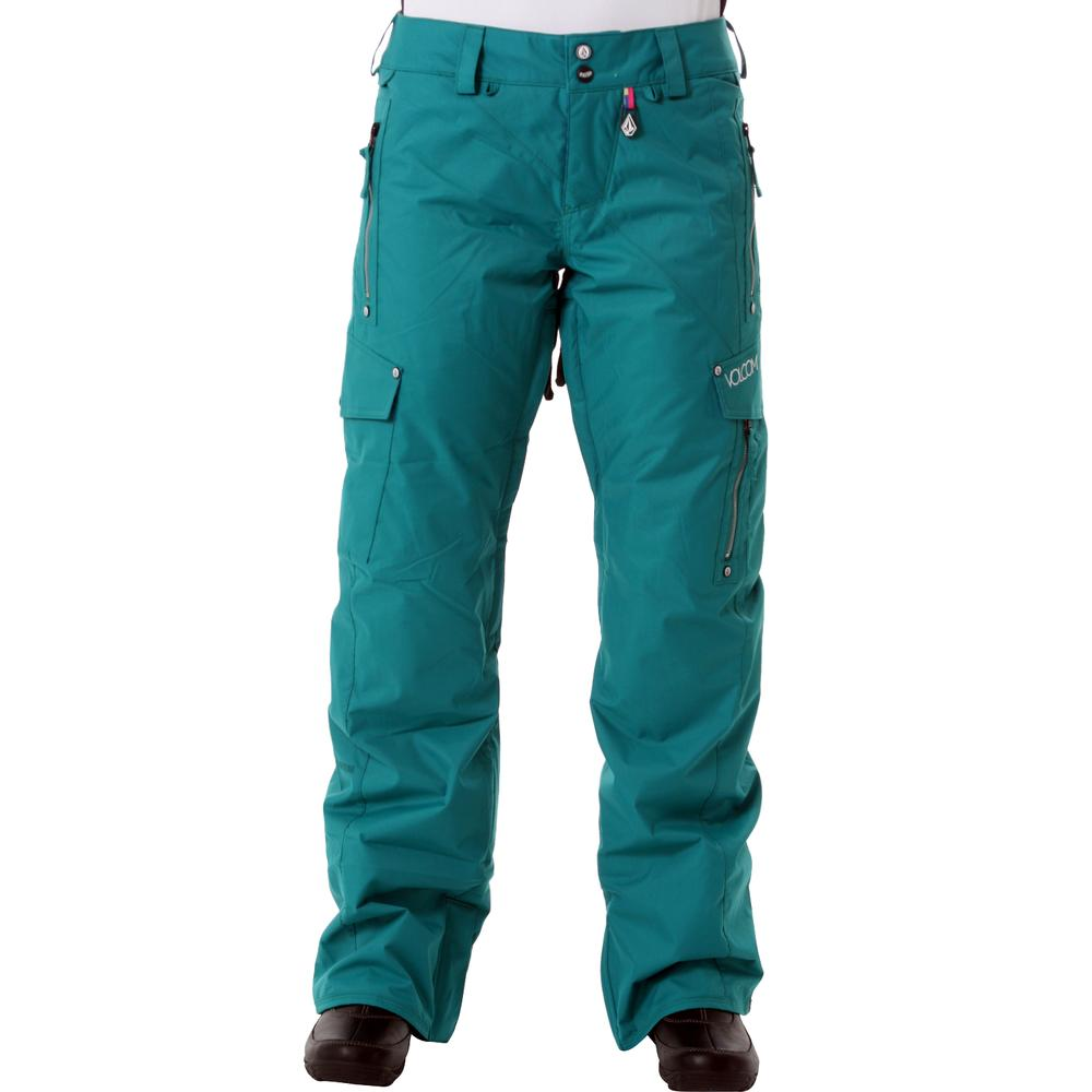 volcom womens snowboarding pants photo - 1